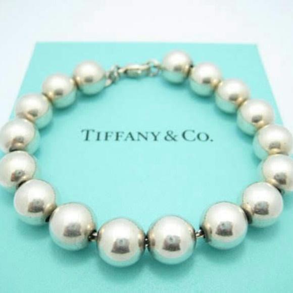 a962a6d89 Tiffany & Co. Jewelry | Tiffany Co925 Silver Bead Bracelet | Poshmark